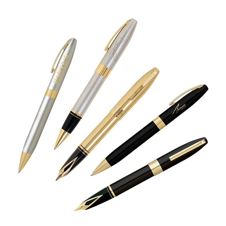 Gold Slim Pen Metal ball pen Hotel or business yiwu pen