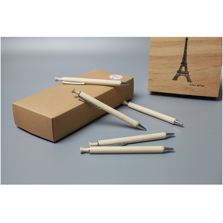 wholesale stationery manufacture custom logo advertising promotional bamboo wooden stylus screen touch pen yiwu pen