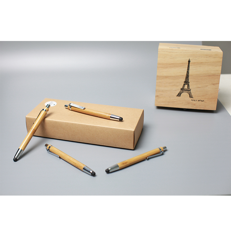 ECO friendly bamboo fountain pen set with bamboo box bamboo fountain pen yiwu pen