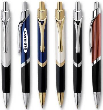 Gift spring colorful pattern heat transfer imprint metal ball pen yiwu pen