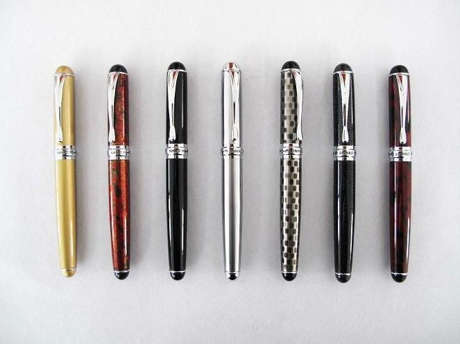 Full color heat transfer pink lady gift metal pen yiwu pen